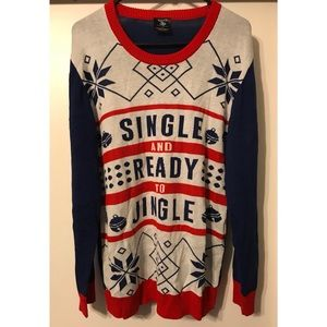 Single and Ready to Jingle Ugly Sweater